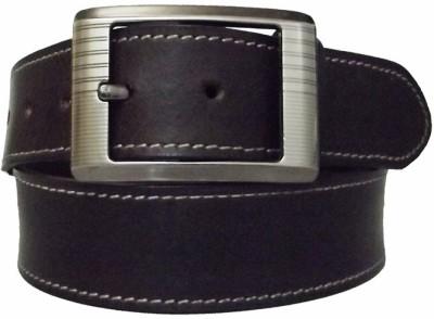 Simran Men Black Artificial Leather Belt
