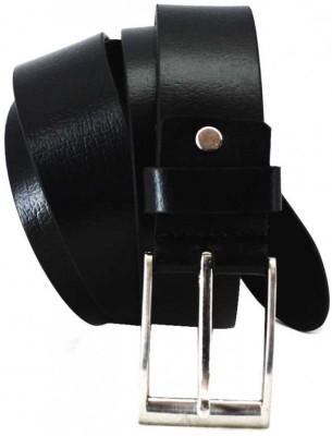 Ealpha Men Black Genuine Leather Belt