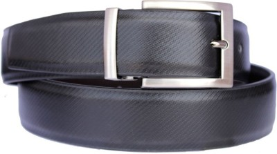 Shopping Store Men Black Genuine Leather Belt