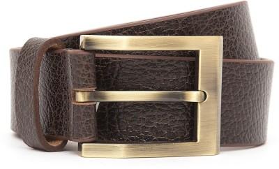Kethini Men Casual Brown Genuine Leather Belt