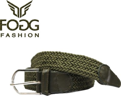 Fogg Fashion Store Girls, Women Green Canvas Belt