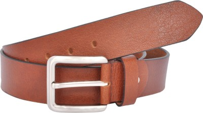 Leo Men Formal Brown Genuine Leather Belt