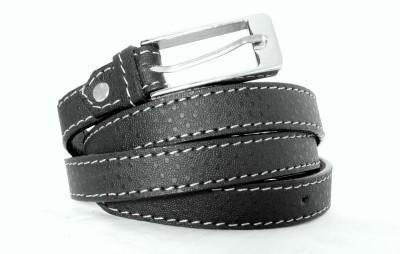FINCH FEATHER Women Formal, Casual Black Genuine Leather Belt