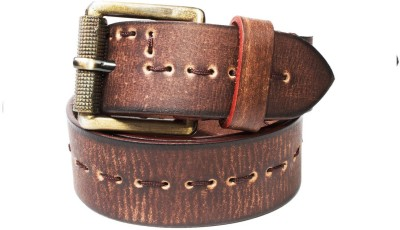 Top Flyte Men Casual, Party, Formal Tan Genuine Leather Belt