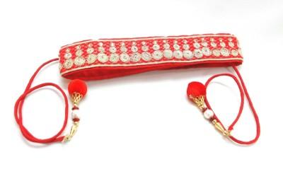 Hepburnette Girls Red Fabric Belt