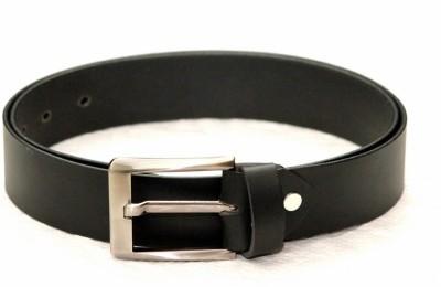 Tops Men Formal Black Genuine Leather Belt