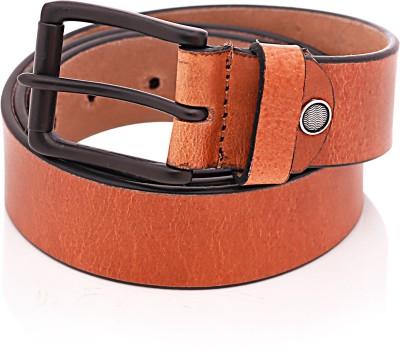 Bosa Men Casual Tan Genuine Leather Belt