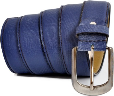 Stylox Men Casual Blue Synthetic Belt