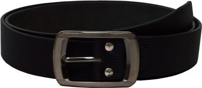 Gen Women Casual Black Artificial Leather Belt