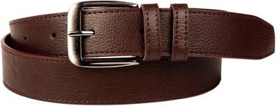 Ocean Enterprises Men, Boys Formal, Formal, Casual, Party Brown, Maroon Genuine Leather Belt