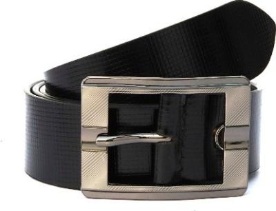Ktux Men Black Genuine Leather Belt