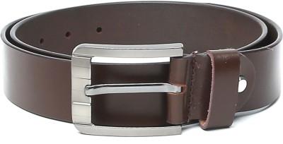 The Deer Club Men Casual Brown Genuine Leather Belt