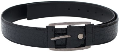 SkyWays Men Casual, Evening, Party Black Artificial Leather Belt