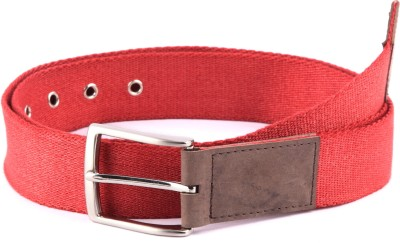 Bluth Men, Women Casual Red Canvas Belt