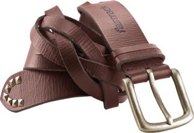 Fastrack Men Brown Genuine Leather Belt