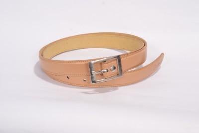 Victoria Secret Women Formal Brown Genuine Leather Belt