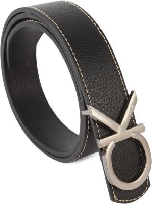Lotus Designer Boys, Girls Casual, Party, Formal Black, Grey Texas Leatherite Belt