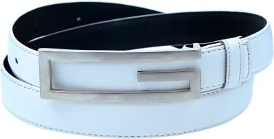 Contra Women White Artificial Leather Belt