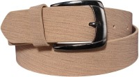 Klaska Men Casual Tan Artificial Leather Belt best price on Flipkart @ Rs. 189
