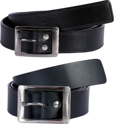 Kritika Men Black Genuine Leather Belt