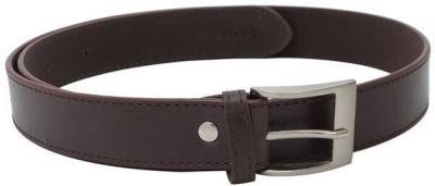 SkyWays Men Formal, Casual Brown Artificial Leather Belt