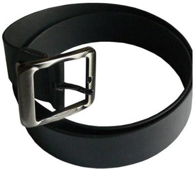 alexise Men Black Genuine Leather Belt