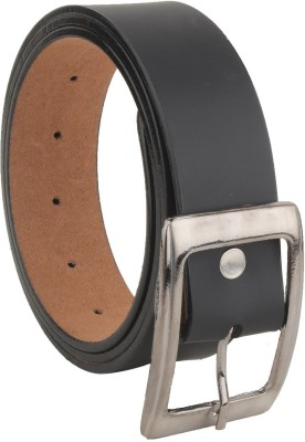 Zacharias Men Casual, Party, Formal, Evening Black Synthetic, Artificial Leather Belt