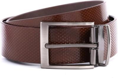 Fashion Craft Men, Boys Casual Brown Genuine Leather Belt