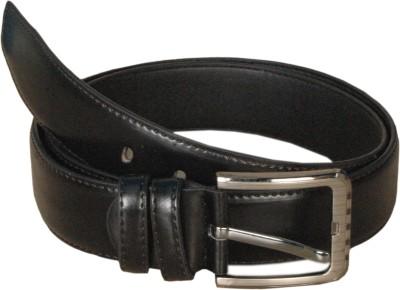 Spalx Arts Men Formal, Casual Black Synthetic Belt