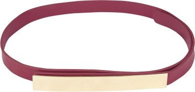 Orange Lifestyles Girls Formal, Party Red Artificial Leather Belt