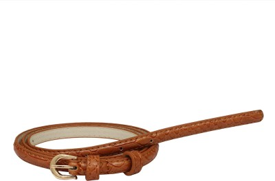 SRI Women Casual Brown Artificial Leather Belt