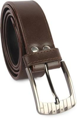 Zymour Men, Boys Brown Artificial Leather Belt