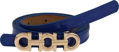 Aadi And Sons Women Casual Blue Artificial Leather Belt