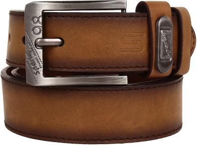 Sparky Men Brown Synthetic Belt