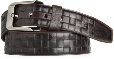 Goguava Men Casual, Party, Formal Brown Genuine Leather Belt