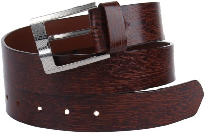 London Fashion Men Casual Brown Genuine Leather Belt