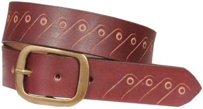 Swastika Men Casual Multicolor Genuine Leather Belt