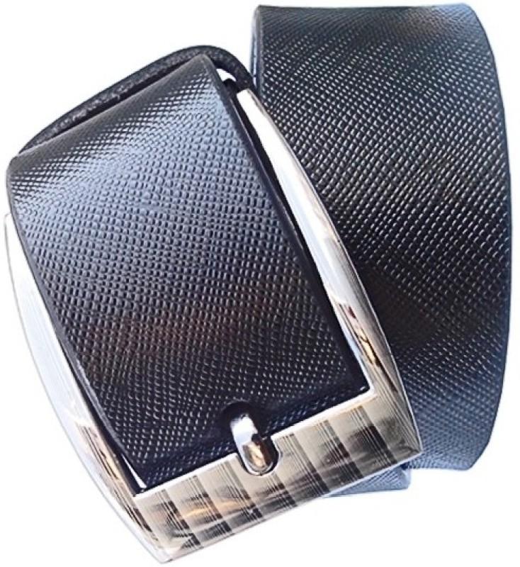 Wholesome Deal Men Formal Black Artificial Leather Belt