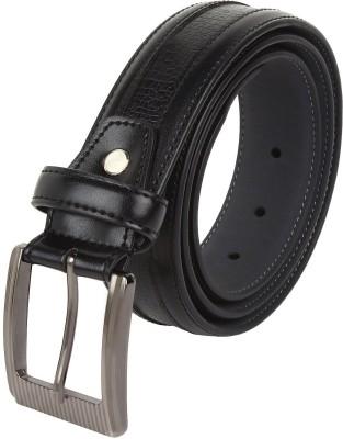cotnis Men Black Artificial Leather Belt