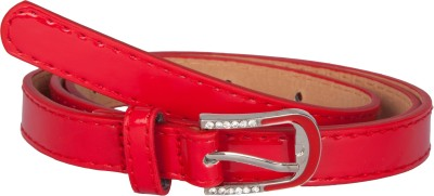 TrendBAE Women Party Red Artificial Leather Belt