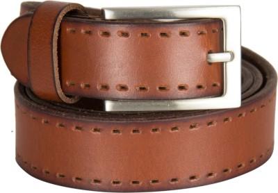 Kara Men Formal Tan Genuine Leather Reversible Belt