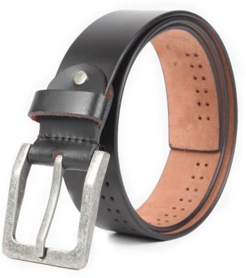 Chisel Men Casual Black Genuine Leather Belt