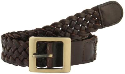 Aditi Wasan Women Casual Brown Genuine Leather Belt