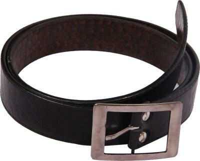 Bharat Fashion Boys, Men Black Synthetic Belt