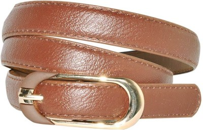 Hadwin Girls Formal Brown Artificial Leather Belt