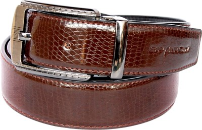 Spairow Men Casual, Formal Black, Brown Artificial Leather Reversible Belt