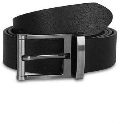 Raymond Home Men Formal Black Genuine Leather Belt