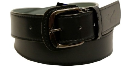 Mizuno Men Formal Black Genuine Leather Belt