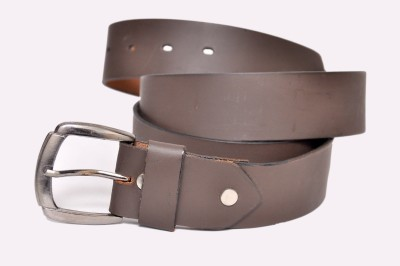 Bullstop Boys, Men Brown Genuine Leather Belt