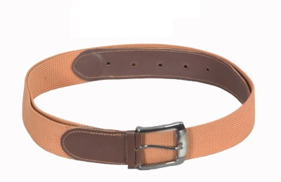 Frow Boys Brown, Tan Canvas Belt